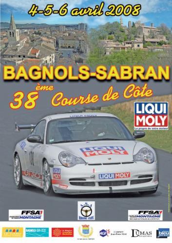 Course de côte de Bagnols-Sabran - 4, 5 & 6 Avril 2008