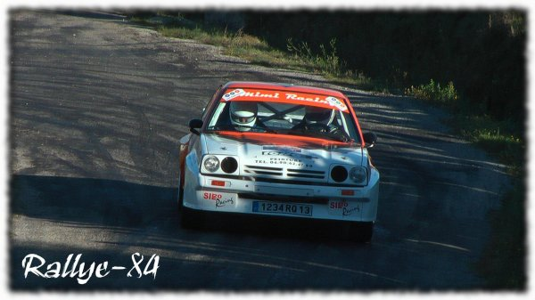 rallye du picodon 2010 hugues opel manta 1oo rallye. Black Bedroom Furniture Sets. Home Design Ideas
