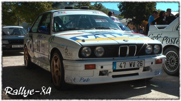 rallye du picodon 2010 caillet bmw m3 1oo rallye. Black Bedroom Furniture Sets. Home Design Ideas