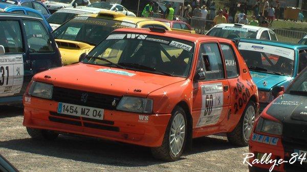 Rallye Gap-Racing 2011 - Calvi/Peugeot 205