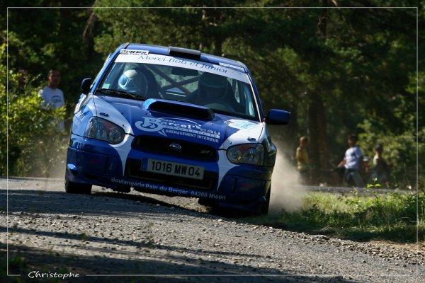 Rallye Gap-Racing 2011 - Subaru Impreza