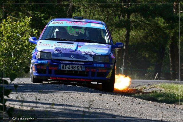 Rallye Gap-Racing 2011 - Ganguet/Clio Williams