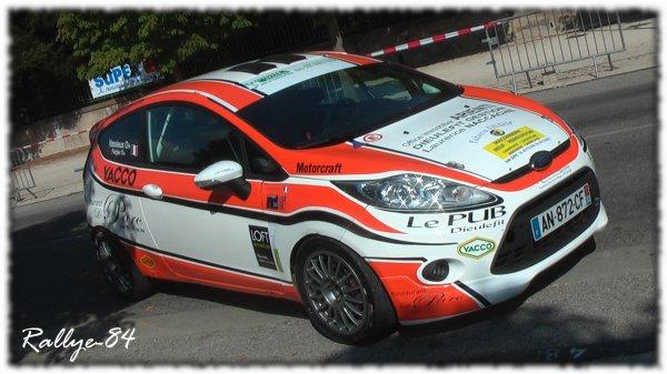 Rallye du Picodon 2011 - Ford Fiesta