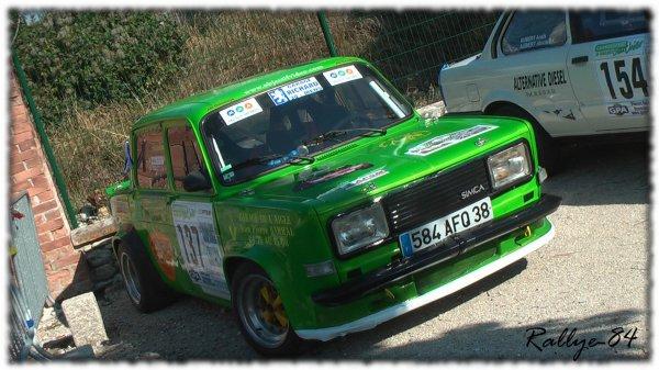 Rallye du Picodon 2011 - Triolet/Simca Rallye III