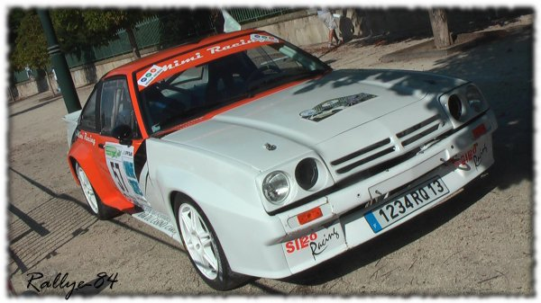 Rallye du Picodon 2011 - Hugues/Opel Manta