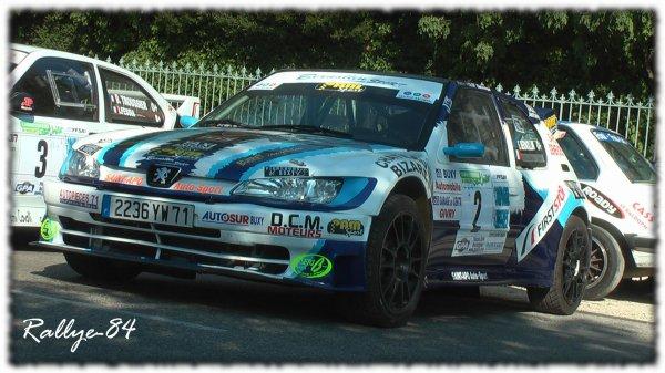 Rallye du Picodon 2011 - Bernollin/Peugeot 306 Maxi