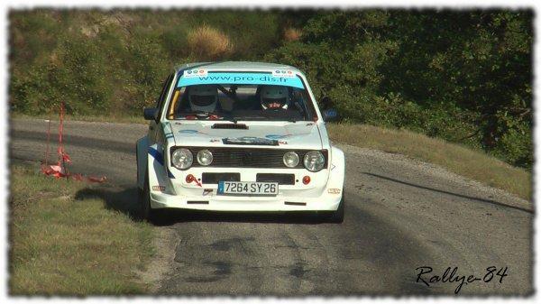 Rallye du Picodon 2011 - Astier/Golf GTI