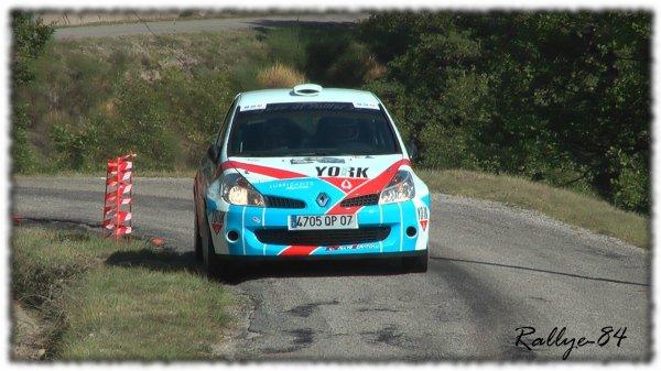 Rallye du Picodon 2011 - Ginhoux/Clio R3