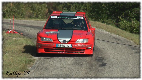 Rallye du Picodon 2011 - Marry/306 Maxi