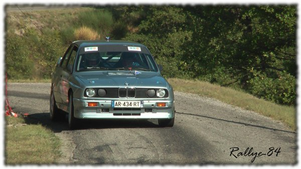 Rallye du Picodon 2011 - Carra/BMW M3