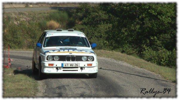 Rallye du Picodon 2011 - Caillet/BMW M3