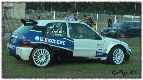 Rallye Mauves & Plats 2011 - Roussat/Saxo Kit Car