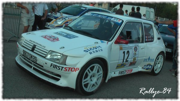 Rallye Mauves & Plats 2011 - Alaize/Peugeot 205