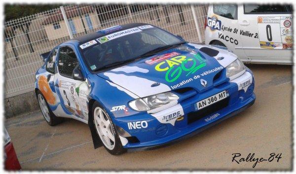 Rallye Mauves & Plats 2011 - Giraldo/Mégane Maxi