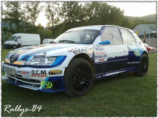 Rallye Mauves & Plats 2011 - Bernollin/Peugeot 306 Maxi