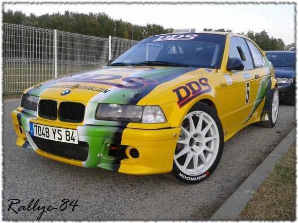 Rallye Mauves & Plats 2011 - Durand/BMW 318 Compact