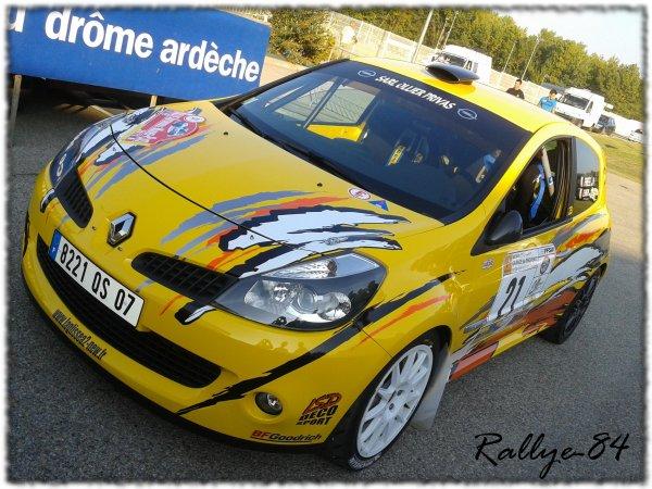 Rallye Mauves & Plats 2011 - Fraisse/Renault Clio R3