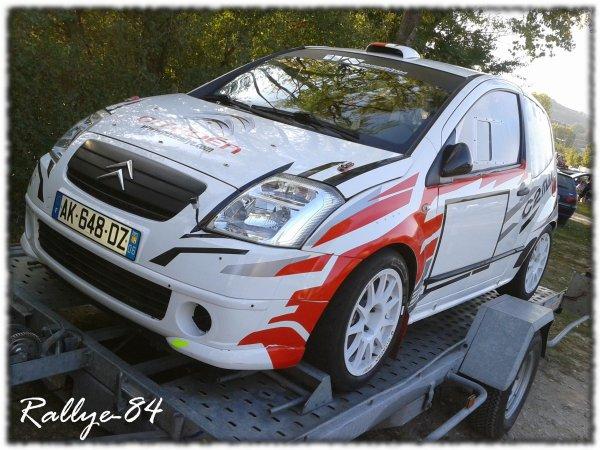 Rallye Mauves & Plats 2011 - Leblond/Citroën C2