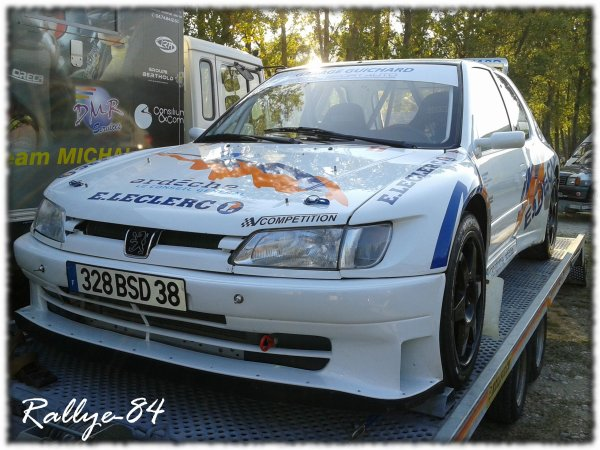 Rallye Mauves & Plats 2011 - Artru/Peugeot 306 Maxi