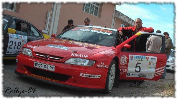 Rallye de Haute Provence 2011 - Fanguiaire/Citroën Xsara Kit-Car