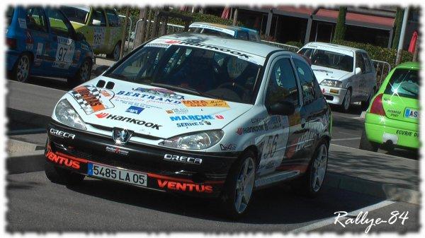 Rallye de Haute Provence 2011 - Scherrer/Peugeot 206