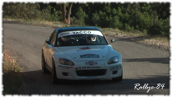 Rallye de Haute Provence 2011 - Brignol/Honda S2000