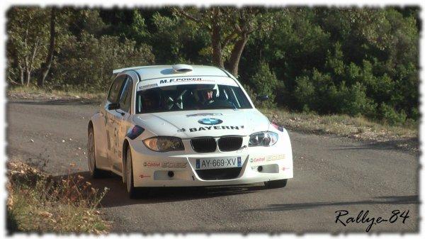 Rallye de Haute Provence 2011 - Melchiorri/BMW 120I
