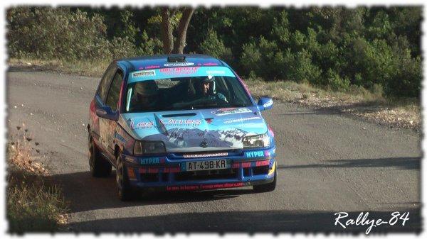 Rallye de Haute Provence 2011 - Gaunguet/Renault Clio