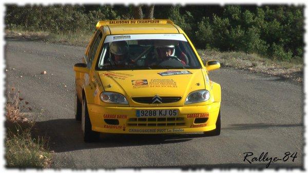 Rallye de Haute Provence 2011 - Farnaud/Saxo Kit-Car