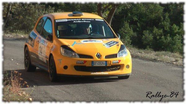 Rallye de Haute Provence 2011 - Eydoux/Renault Clio 3