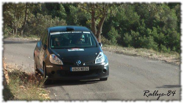 Rallye de Haute Provence 2011 - Daumas/Renault Clio 3