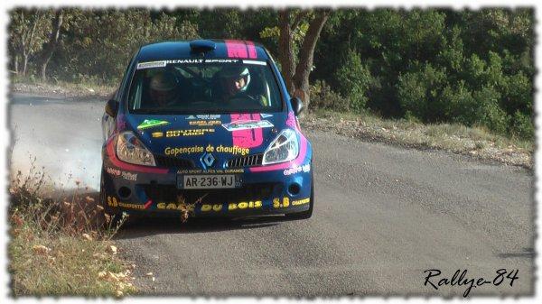 Rallye de Haute Provence 2011 - Barneaud/Renault Clio 3