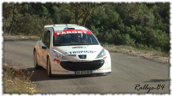 Rallye de Haute Provence 2011 - Fabre/Peugeot 207 S2000