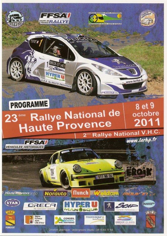 Rallye de Haute Provence 2011