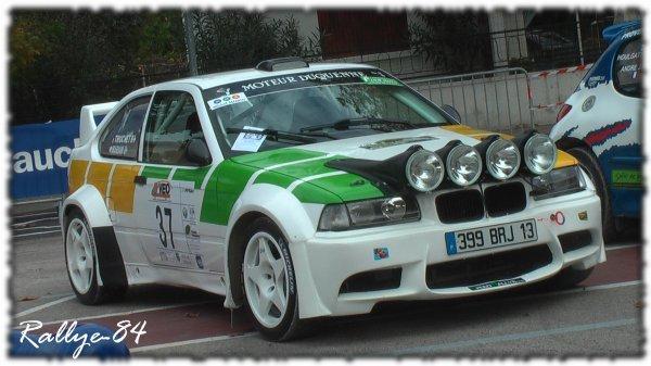 Rallye de Sarrians 2011 - Mariani/BMW Compact