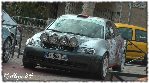 Rallye de Sarrians 2011 - Godi/Audi A3