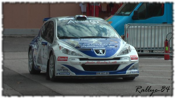 Rallye de Sarrians 2011 - Latil/Peugeot 207 S2000