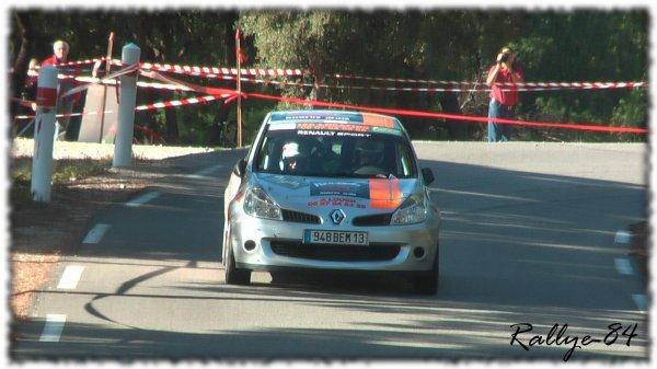 Rallye de Sarrians 2011 - Belen/Clio R3