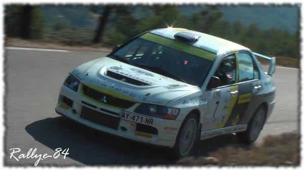 Rallye de Sarrians 2011 - Lacomy/Mitsubishi evo9
