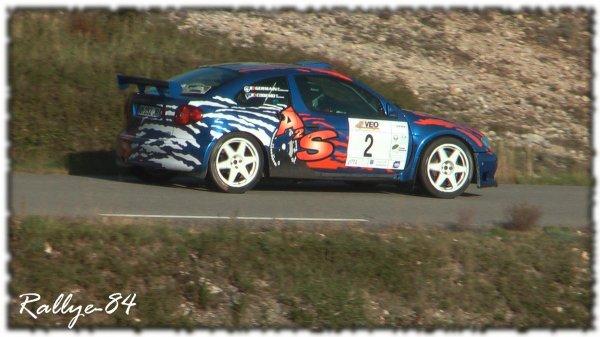 Rallye de Sarrians 2011 - Germain/Mégane Maxi