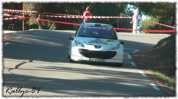 Rallye de Sarrians 2011 - Fabre/Peugeot 207 S2000
