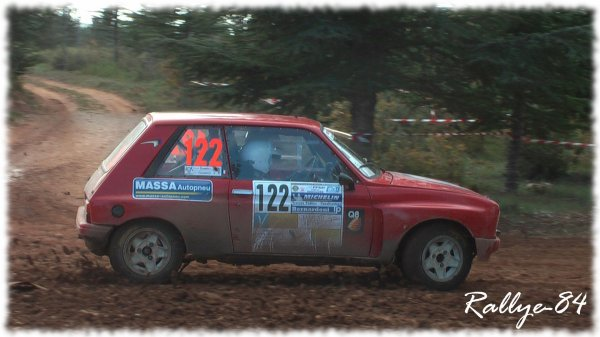 Terre de Vaucluse 2011 - Bernardi/Peugeot 104 Zs