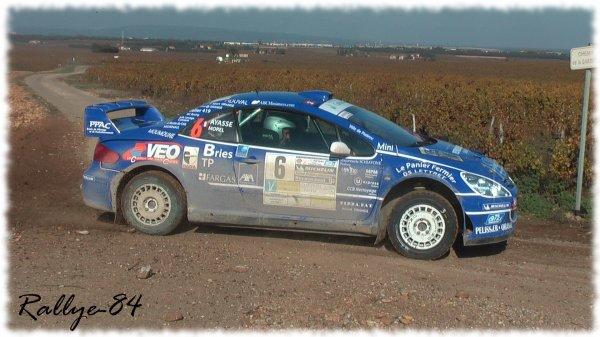 Terre de Vaucluse 2011 - Morel/Peugeot 3o7 Wrc