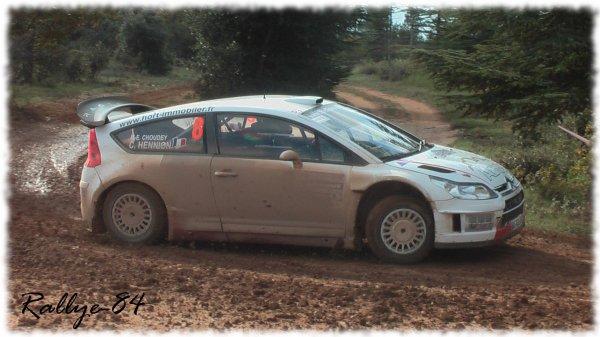 Terre de Vaucluse 2011 - Hennion/Citroën C4 Wrc