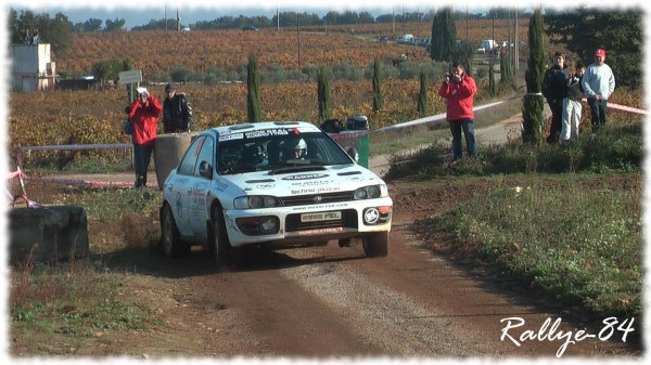 Terre de Vaucluse 2011 - Chambon/Subaru Impreza [800e article]