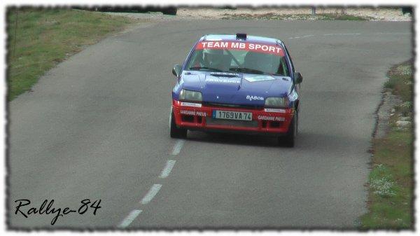 Rallye du Mistral 2011 - Schifano/Renault Clio