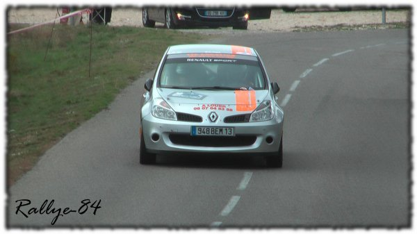 Rallye du Mistral 2011 - Ibanez/Renault Clio R3