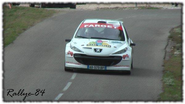 Rallye du Mistral 2011 - Fabre/Peugeot 207 S2000