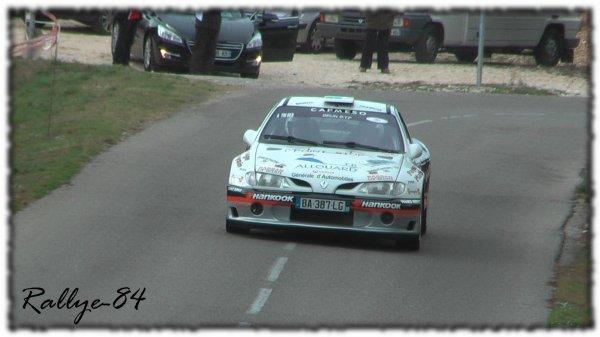 Rallye du Mistral 2011 - Brun/Renault Mégane Maxi
