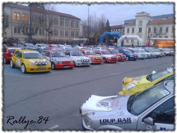 Rallye hivernal des Hautes-Alpes 2012 - Parc